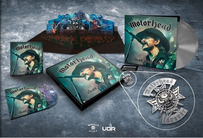 "Motorhead ""Clean Your Clock"" box set"