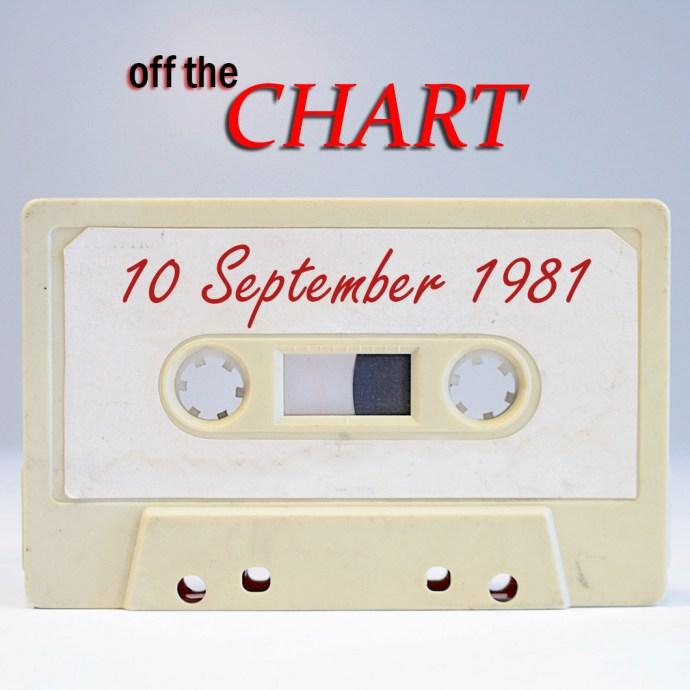 Off The Chart: 10 September 1981