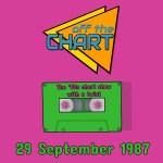 Off The Chart: 29 September 1987