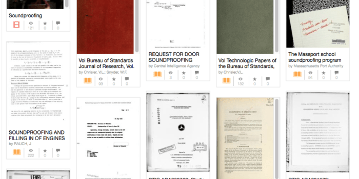 Noise-control manuals from the time machine
