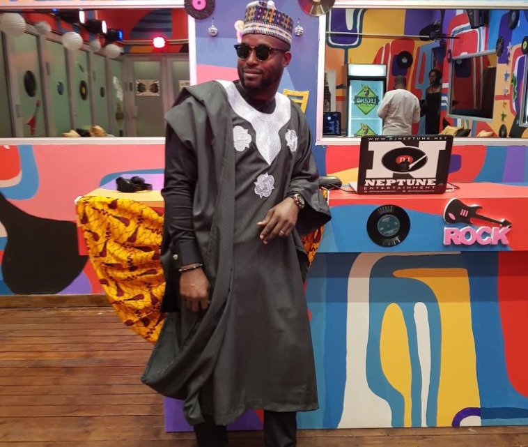 DJ Neptune Gifts Out Agbada He Wore For #BBNaija Party To Twitter User Who Asked For It (Photos)