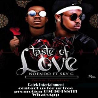 Noendo ft. Sky G - Taste Of Love
