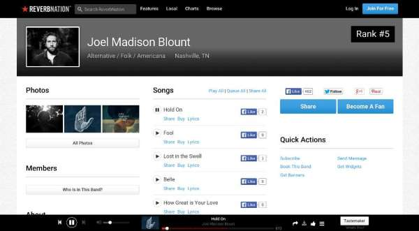 ReverbNation-playlist