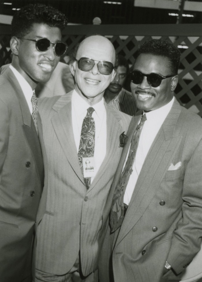 Jack with Babyface and L.A. Reid