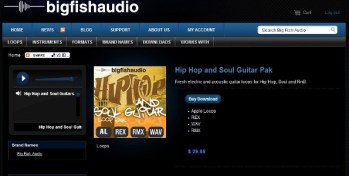 Big Fish Audio Hip Hop and Soul Guitar pak