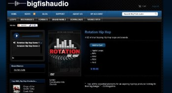 Big Fish Audio Rotation Hip Hop samples