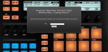 Maschine Tutorial site coming soon!