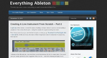 Creating an instrument from scratch in Ableton Live