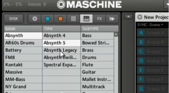 NI Maschine 1.7 and Komplete 8 browser integration video