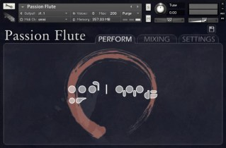 Orange Tree Samples Passion Flute library review