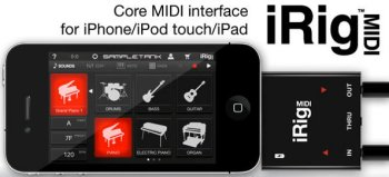 IK Multimedia iRig MIDI adapter for iPad review