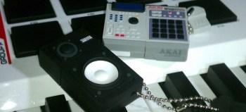 Checkout these Akai MPC and Yamaha NS-10 USB flash drives