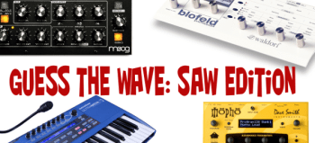 Guess the synths and win a KORG Monotron DUO