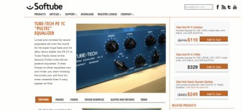 "Softube Tube-Tech PE1C ""Pultech"" EQ review"