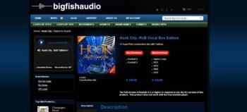 Big Fish Audio Hook City RnB Vocal Box Edition