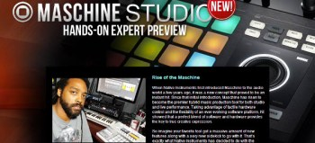 Maschine Studio Preview featured on American Musical