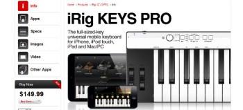 IK Multimedia iRig Keys Pro mobile keyboard review