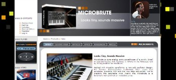 Arturia MicroBrute analog synthesizer review