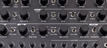 Studio Electronics Boomstar 5089 24dB Moog filter synth & Thesys sequencer app