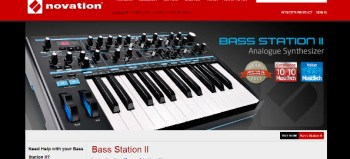 Novation Bass Station II analog synth review