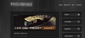 Patchbanks Low End Theory Vol 1 classic samples review