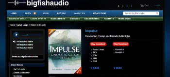 Review: Big Fish Audio Impulse Cinematic Guitar Library