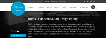 Review: ORACLE- Modern Sound Design Library for Kontakt