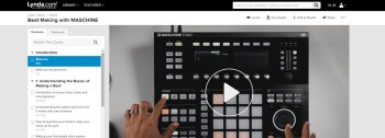 Watch my new Maschine beatmaking course just released with Lynda.com