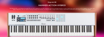 Review: Arturia KeyLab 88 Hammer-Action Keyboard Controller
