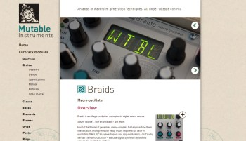 Going Modular: Episode #5 – Mutable Instruments Braids Macro Oscillator
