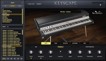Comparison: Spectrasonics Keyscape vs 1972 Fender Rhodes