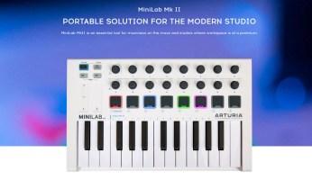 Review: Arturia Minilab MKII Portable MIDI Controller