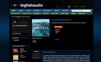 Big Fish Friday: Origin Sound Fundamental Ambience