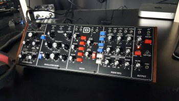 Got the Behringer Model D, My first thoughts.
