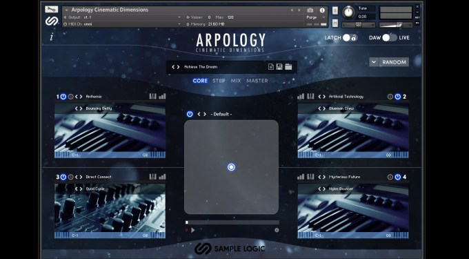 Product Demo: Sample Logic Arpology Cinematic Dimensions