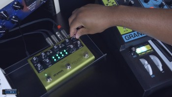 Strymon Volante Pedal with Moog Grandmother