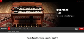 IK Multimedia Hammond B-3X Organ Demo