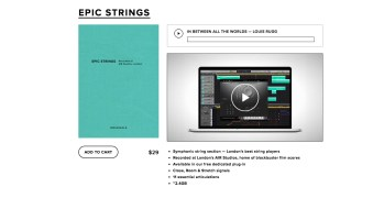 Spitfire Audio Epic Strings Library Demo