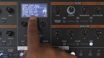 How to Setup Key Splits on the Roland Jupiter-Xm