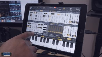 KV331 Audio SynthMaster One iOS Wavetable Synth App Demo