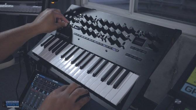 Korg Minilogue XD Poly, Unison, & Chord Voice Mode Demo