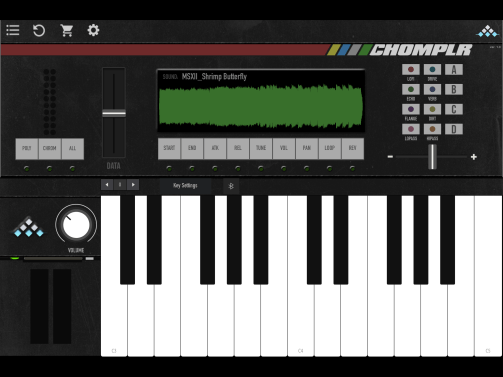 Chomplr – New Chopped Rompler iOS App from MSXII!!!