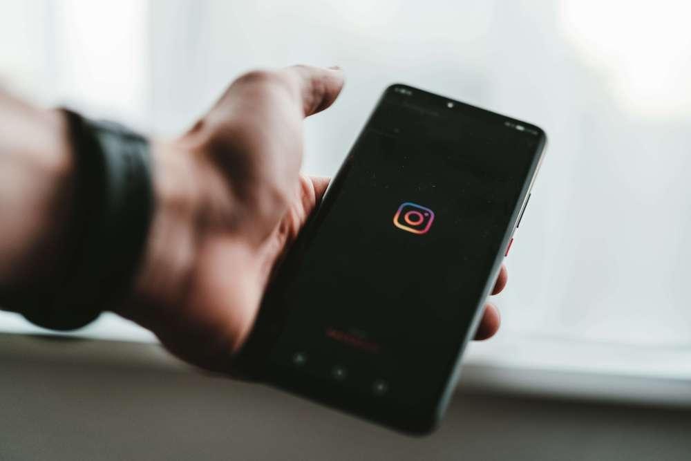 Opening Instagram