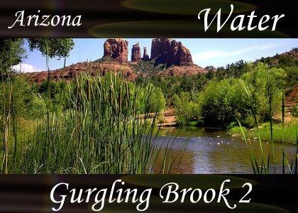 SoundScenes - Atmo-AZ - Gurgling Brook 2