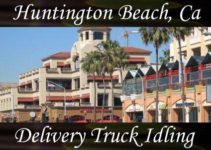 SoundScenes - Atmo-California - Huntington Beach, Delivery Truck Idling