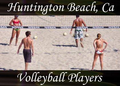 SoundScenes - Atmo-California - Huntington Beach, Volleyball Players
