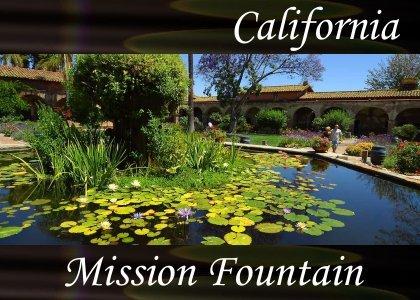 SoundScenes - Atmo-California - San Juan Capistrano - Mission Fountain
