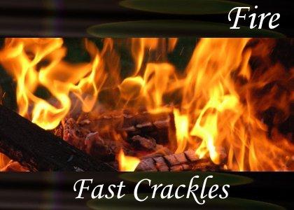 SoundScenes - Atmo-Fire - Fast Crackles