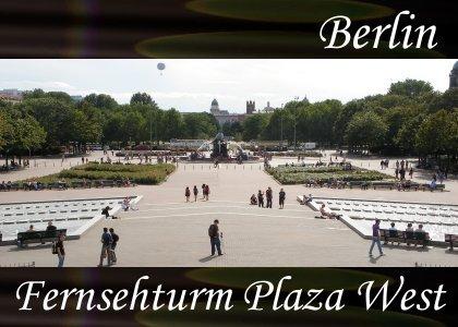 SoundScenes - Atmo-Germany - Berlin, Fernsehturm Plaza West