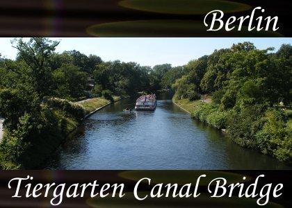 SoundScenes - Atmo-Germany - Berlin, Tiergarten Canal Bridge